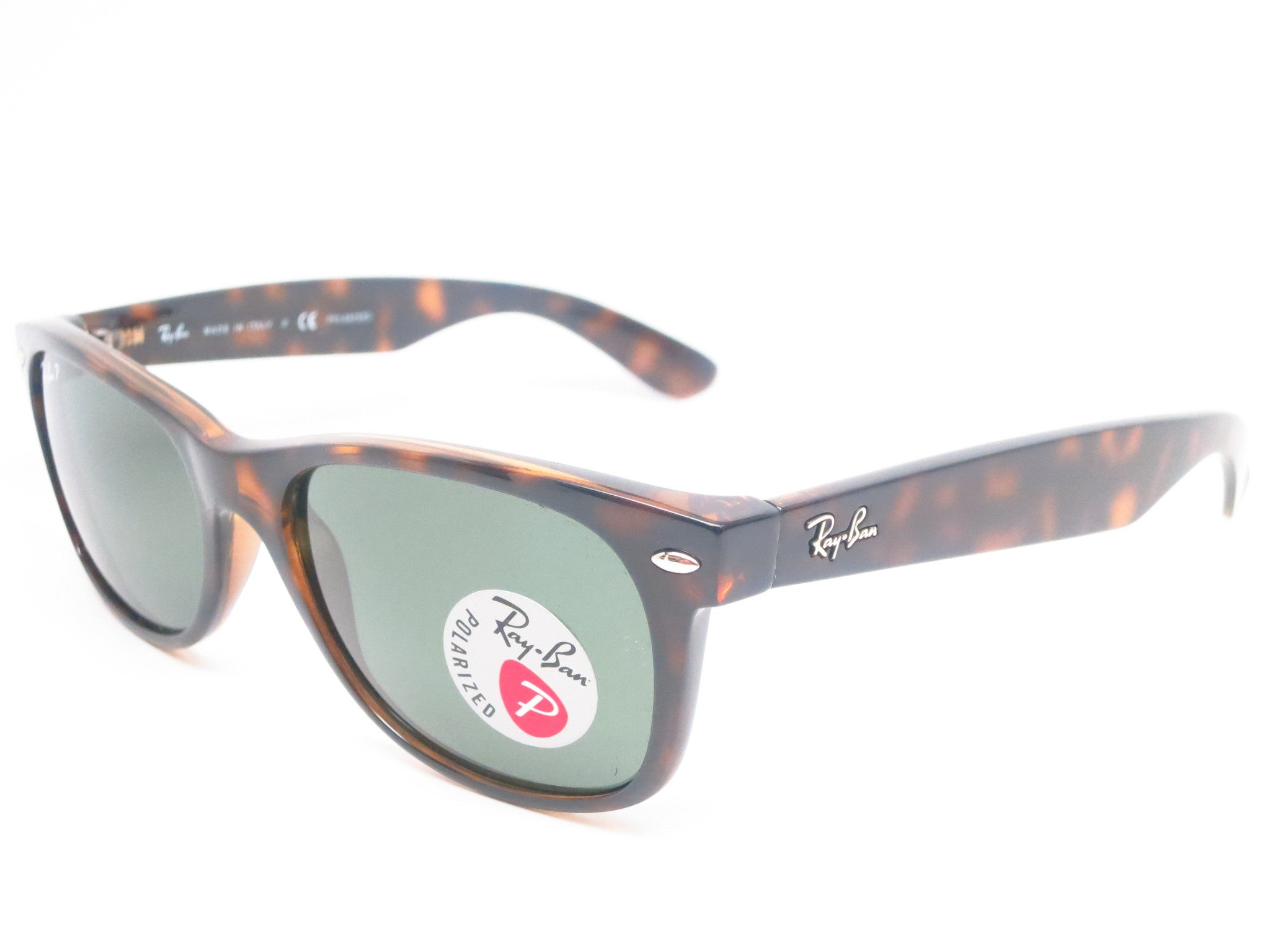 994a49f3a9 Ray-Ban RB 2132 New Wayfarer 902 58 Tortoise Polarized Sunglasses - Eye  Heart ...