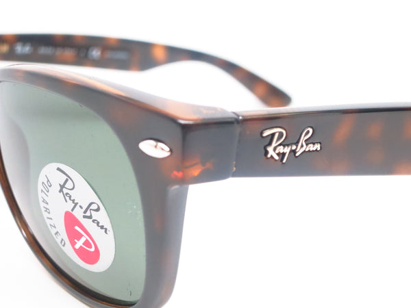 Ray-Ban RB 2132 New Wayfarer 902/58 Tortoise Polarized Sunglasses - Eye Heart Shades - Ray-Ban - Sunglasses - 3