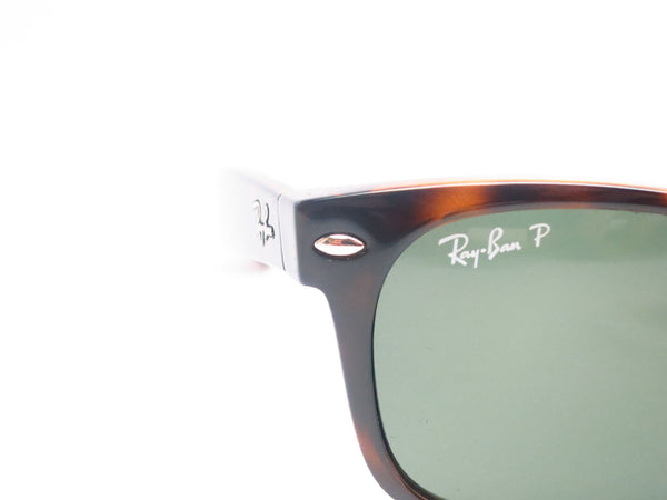Ray-Ban RB 2132 New Wayfarer 902/58 Tortoise Polarized Sunglasses - Eye Heart Shades - Ray-Ban - Sunglasses - 4