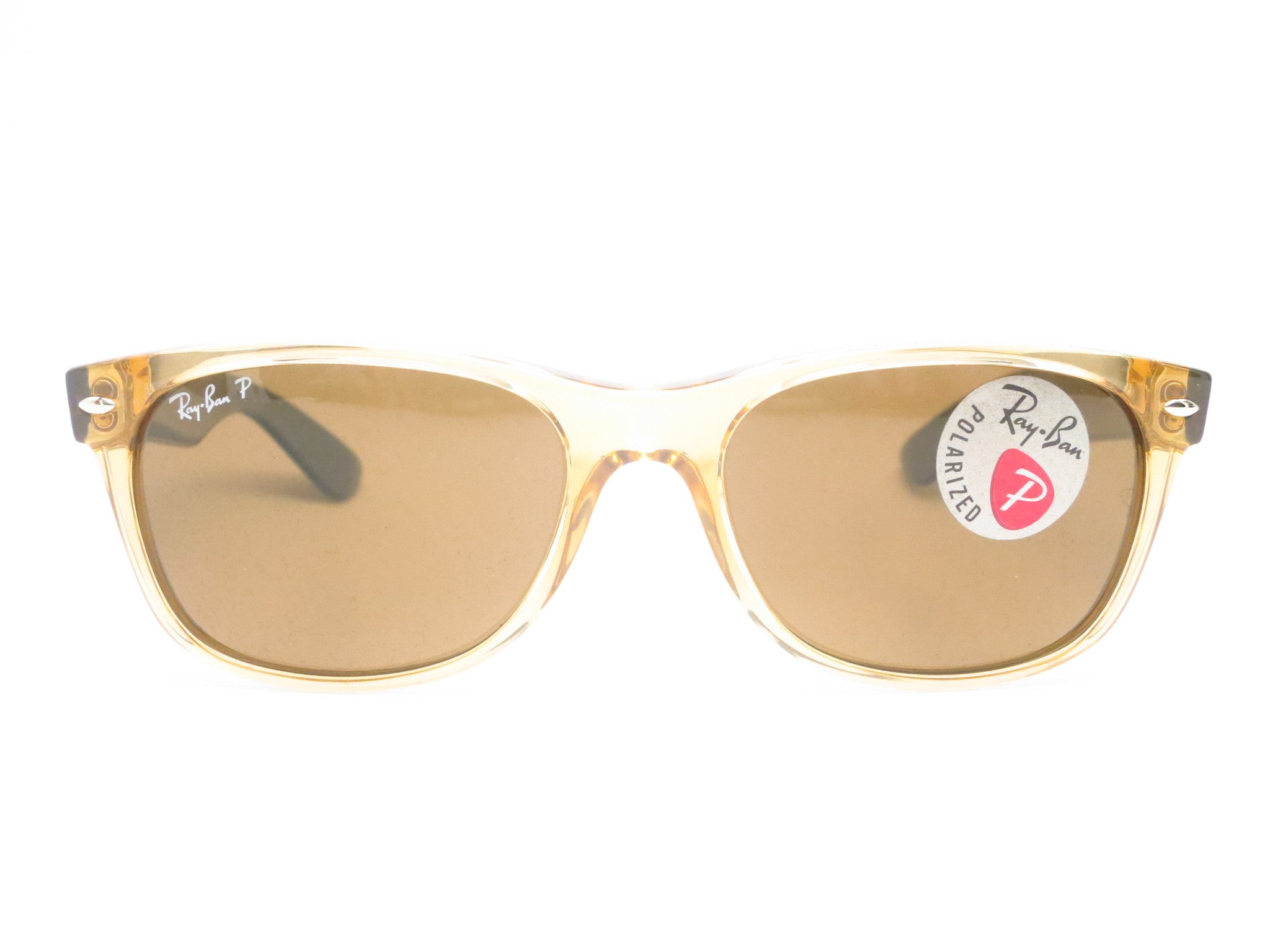 ray ban honey polarized