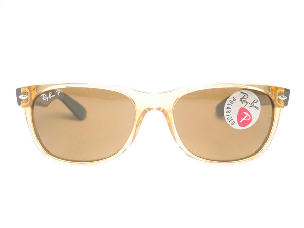 Ray-Ban RB 2132 New Wayfarer 945/57 Honey Polarized Sunglasses - Eye Heart Shades - Ray-Ban - Sunglasses - 2