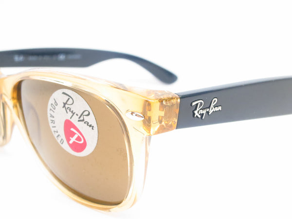 Ray-Ban RB 2132 New Wayfarer 945/57 Honey Polarized Sunglasses - Eye Heart Shades - Ray-Ban - Sunglasses - 3