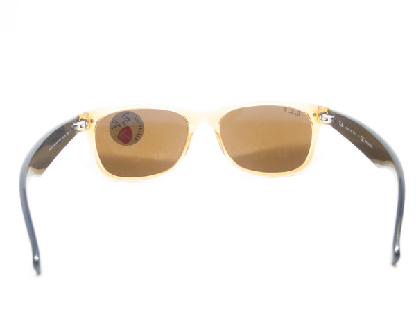 Ray-Ban RB 2132 New Wayfarer 945/57 Honey Polarized Sunglasses - Eye Heart Shades - Ray-Ban - Sunglasses - 9