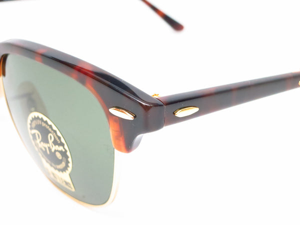 Ray-Ban RB 2176 Clubmaster Folding 990 Red Havana Sunglasses - Eye Heart Shades - Ray-Ban - Sunglasses - 3
