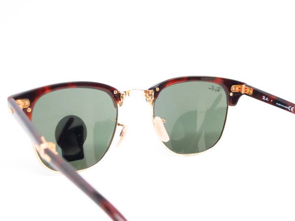 Ray-Ban RB 2176 Clubmaster Folding 990 Red Havana Sunglasses - Eye Heart Shades - Ray-Ban - Sunglasses - 6
