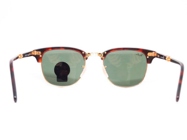 Ray-Ban RB 2176 Clubmaster Folding 990 Red Havana Sunglasses - Eye Heart Shades - Ray-Ban - Sunglasses - 7