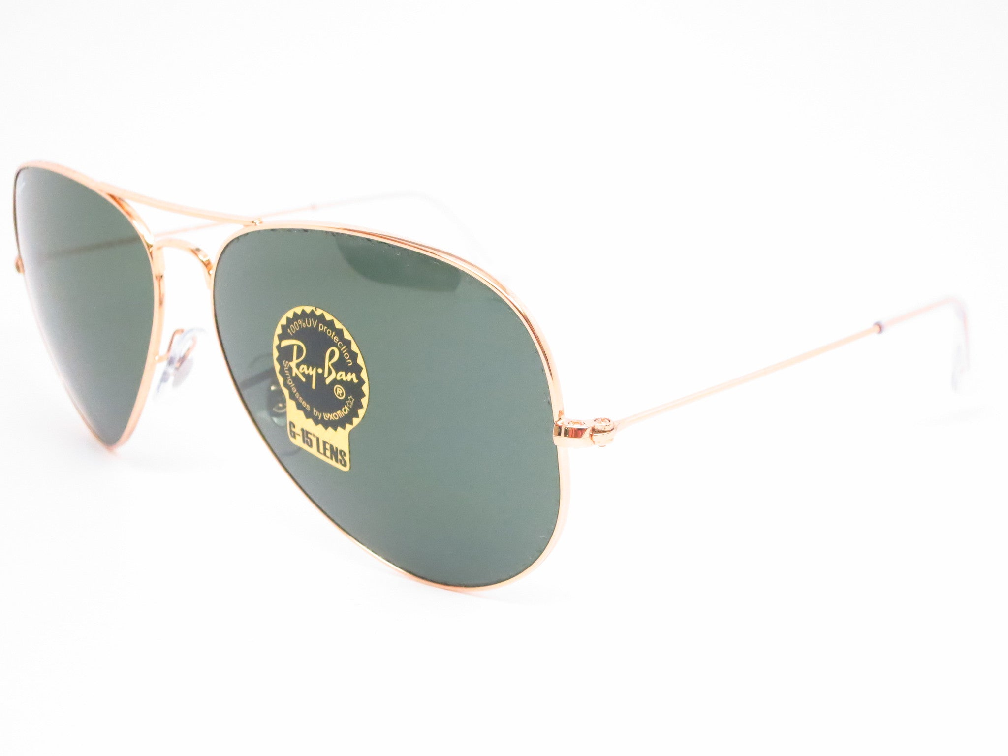 ray ban rb3026  Ray-Ban RB 3026 Aviator Large Metal II L2846 Arista Sunglasses ...