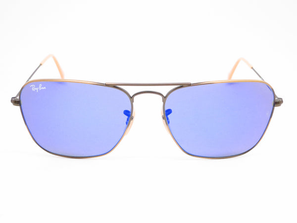 Ray-Ban RB 3136 Caravan 167/68 Demigloss Brushed Bronze Sunglasses - Eye Heart Shades - Ray-Ban - Sunglasses - 2