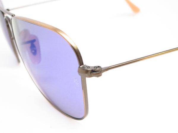 Ray-Ban RB 3136 Caravan 167/68 Demigloss Brushed Bronze Sunglasses - Eye Heart Shades - Ray-Ban - Sunglasses - 3