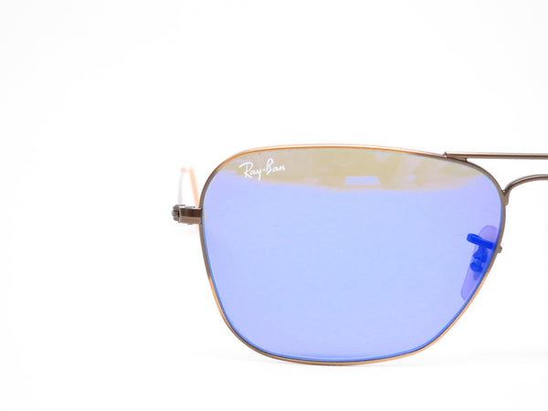 Ray-Ban RB 3136 Caravan 167/68 Demigloss Brushed Bronze Sunglasses - Eye Heart Shades - Ray-Ban - Sunglasses - 4