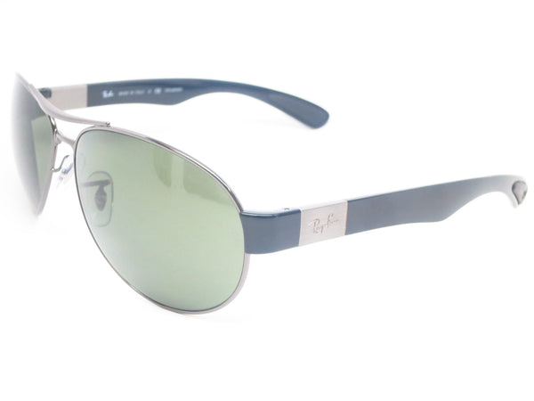 Ray-Ban RB 3509 Pilot 004/9A Gunmetal Polarized Sunglasses - Eye Heart Shades - Ray-Ban - Sunglasses - 1