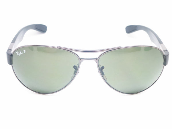 Ray-Ban RB 3509 Pilot 004/9A Gunmetal Polarized Sunglasses - Eye Heart Shades - Ray-Ban - Sunglasses - 2