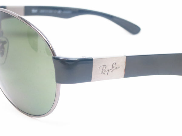 Ray-Ban RB 3509 Pilot 004/9A Gunmetal Polarized Sunglasses - Eye Heart Shades - Ray-Ban - Sunglasses - 3