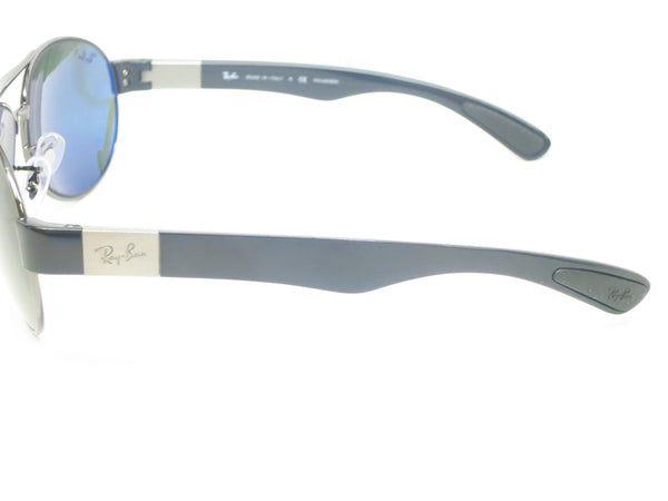 Ray-Ban RB 3509 Pilot 004/9A Gunmetal Polarized Sunglasses - Eye Heart Shades - Ray-Ban - Sunglasses - 6