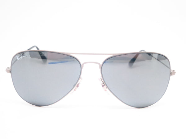 Ray-Ban RB 3513 Aviator 154/6G Sand Silver Sunglasses - Eye Heart Shades - Ray-Ban - Sunglasses - 2