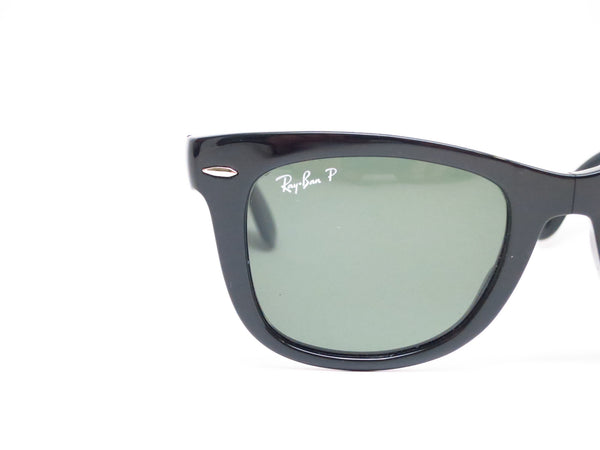 Ray-Ban RB 4105 Folding Wayfarer 601/58 Black Polarized Sunglasses - Eye Heart Shades - Ray-Ban - Sunglasses - 4