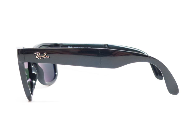 Ray-Ban RB 4105 Folding Wayfarer 601/58 Black Polarized Sunglasses - Eye Heart Shades - Ray-Ban - Sunglasses - 5