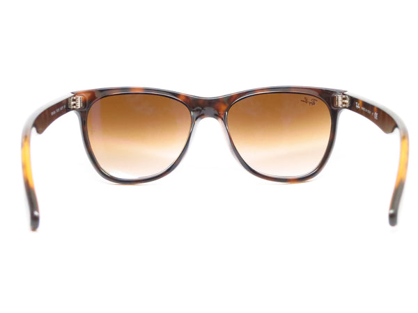 Ray-Ban RB 4184 Highstreet 710/51 Light Havana Sunglasses - Eye Heart Shades - Ray-Ban - Sunglasses - 7