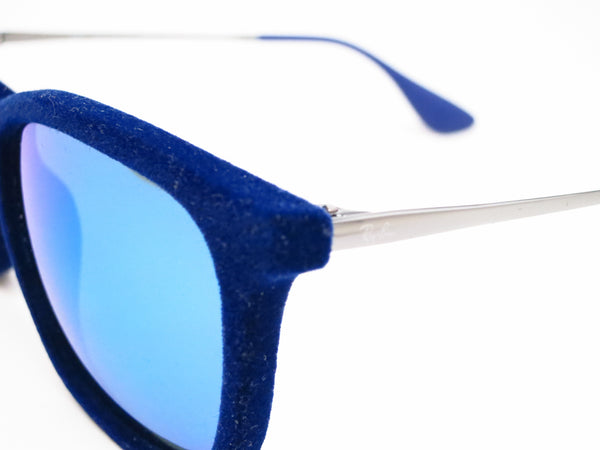 Ray-Ban RB 4187 Chris 6081/55 Flock Blue Sunglasses - Eye Heart Shades - Ray-Ban - Sunglasses - 3