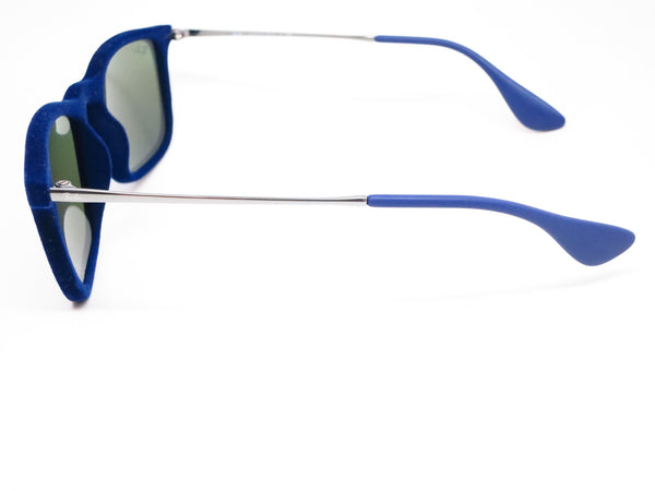 Ray-Ban RB 4187 Chris 6081/55 Flock Blue Sunglasses - Eye Heart Shades - Ray-Ban - Sunglasses - 5