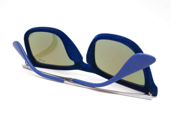 Ray-Ban RB 4187 Chris 6081/55 Flock Blue Sunglasses - Eye Heart Shades - Ray-Ban - Sunglasses - 8