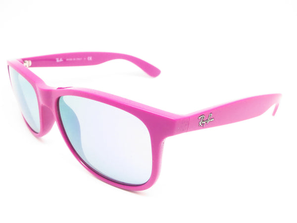 Ray-Ban RB 4202 Andy 6071/4V Matter Purple Sunglasses - Eye Heart Shades - Ray-Ban - Sunglasses - 1