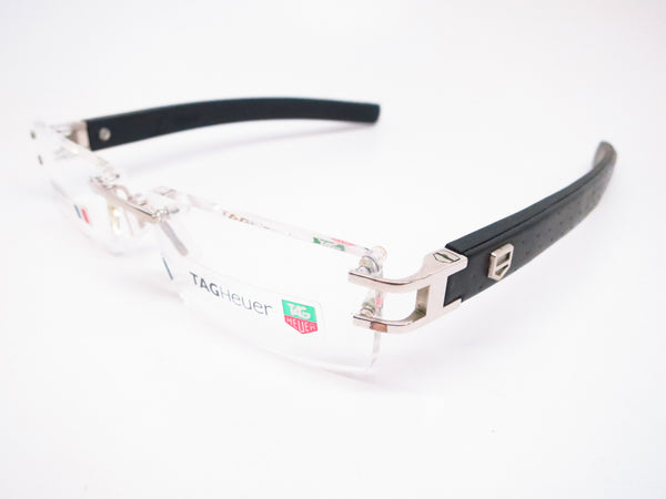 Tag Heuer TH 0112 013 L-Type Calfskin Eyeglasses - Eye Heart Shades - Tag Heuer - Eyeglasses - 1