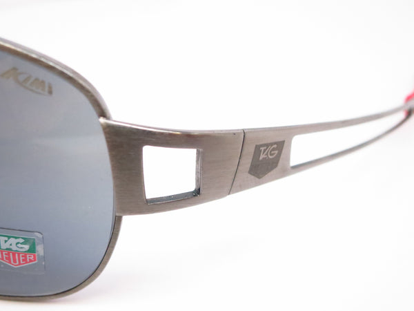 Tag Heuer TH 0204 Speedway 101 Gunmetal/Red Polarized Sunglasses - Eye Heart Shades - Tag Heuer - Sunglasses - 3