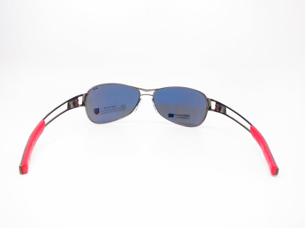 Tag Heuer TH 0204 Speedway 101 Gunmetal/Red Polarized Sunglasses - Eye Heart Shades - Tag Heuer - Sunglasses - 7