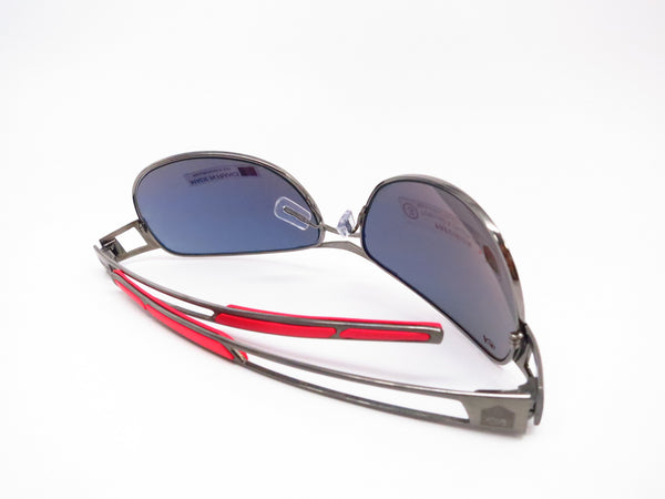 Tag Heuer TH 0204 Speedway 101 Gunmetal/Red Polarized Sunglasses - Eye Heart Shades - Tag Heuer - Sunglasses - 8