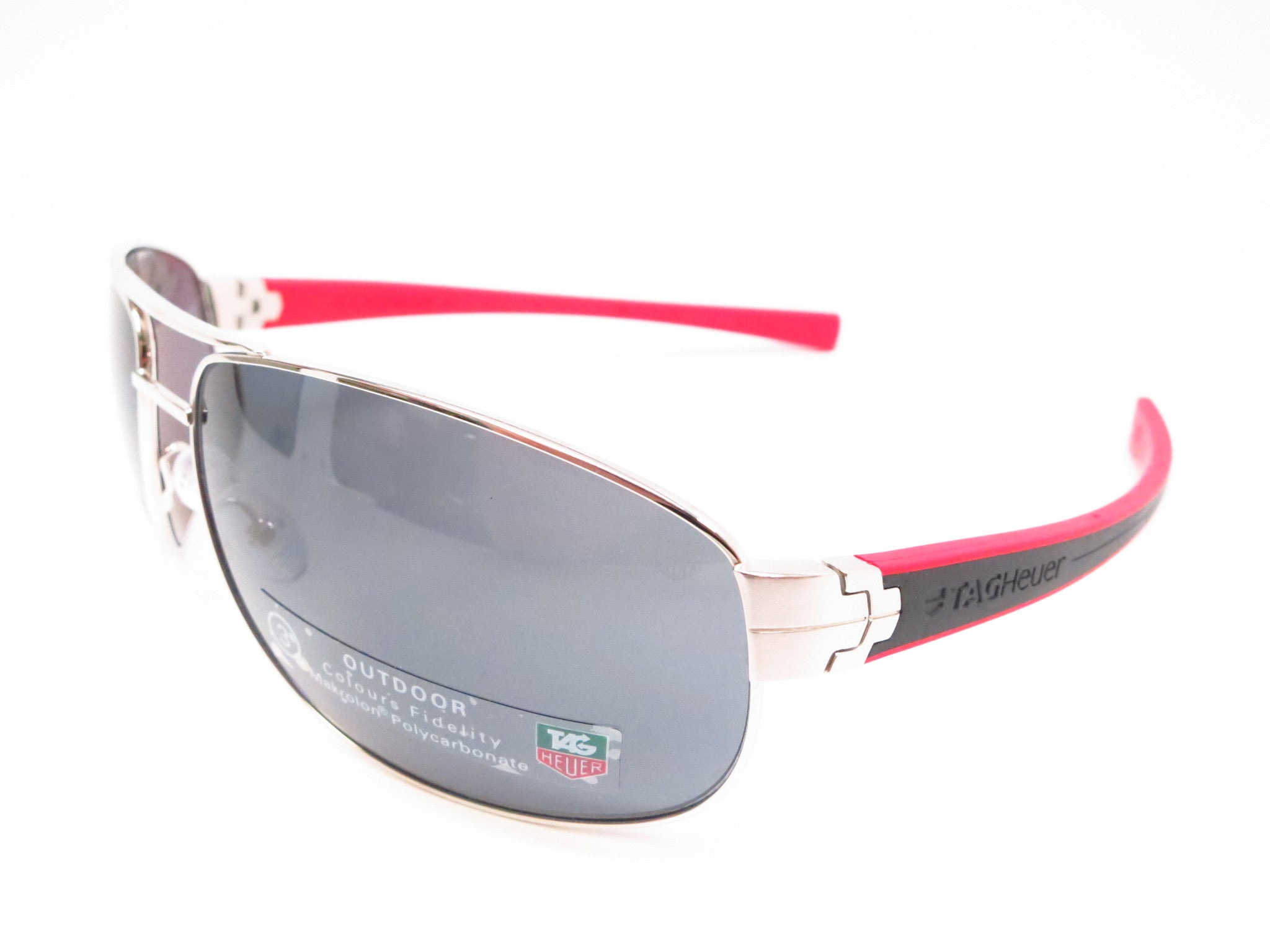 Tag Heuer TH 0252 LRS 102 Red / Black Sunglasses - Eye Heart Shades