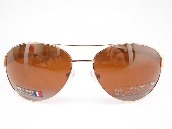 Tag Heuer TH 0253 LRS 705 Gold/Brown-Ivory Temple Sunglasses - Eye Heart Shades - Tag Heuer - Sunglasses - 2