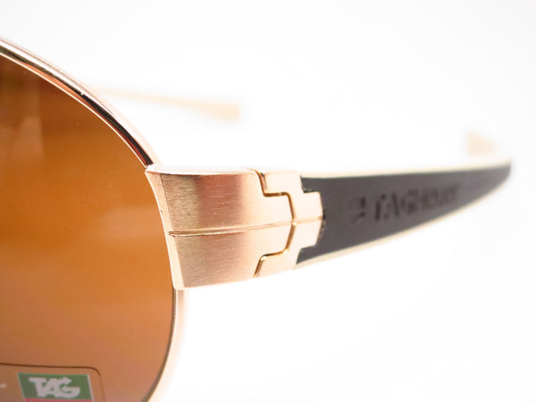 Tag Heuer TH 0253 LRS 705 Gold/Brown-Ivory Temple Sunglasses - Eye Heart Shades - Tag Heuer - Sunglasses - 3