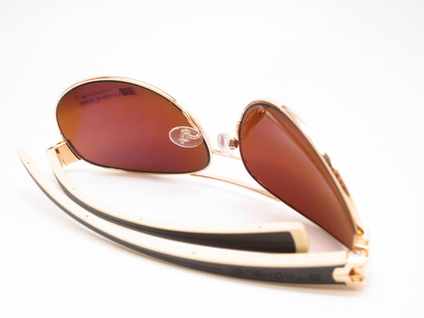 Tag Heuer TH 0253 LRS 705 Gold/Brown-Ivory Temple Sunglasses - Eye Heart Shades - Tag Heuer - Sunglasses - 8