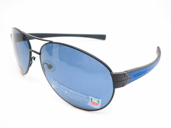 Tag Heuer TH 0256 LRS 404 Cobalt Blue Black Sunglasses - Eye Heart Shades - Tag Heuer - Sunglasses - 1