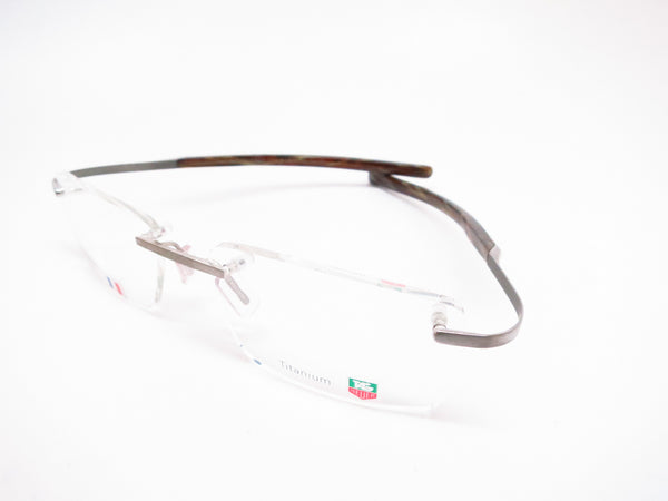 Tag Heuer TH 0303 004 Silver/Havana Spring Acetate Eyeglasses - Eye Heart Shades - Tag Heuer - Eyeglasses - 1