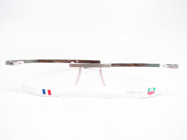 Tag Heuer TH 0303 004 Silver/Havana Spring Acetate Eyeglasses - Eye Heart Shades - Tag Heuer - Eyeglasses - 2
