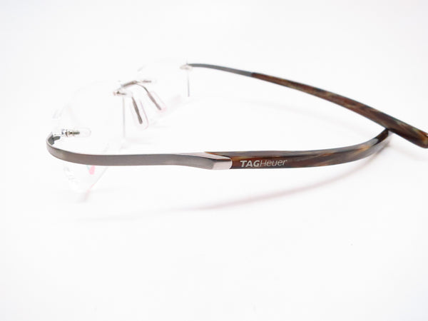 Tag Heuer TH 0303 004 Silver/Havana Spring Acetate Eyeglasses - Eye Heart Shades - Tag Heuer - Eyeglasses - 5