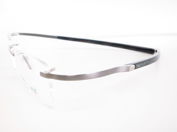 Tag Heuer TH 0304 005 Silver / Black Spring Acetate Eyeglasses - Eye Heart Shades - Tag Heuer - Eyeglasses - 3