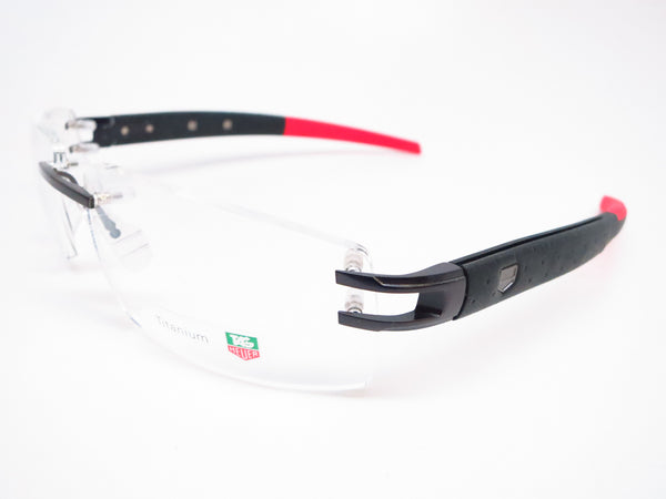 Tag Heuer TH 0441 004 Red/Black Calf Skin Eyeglasses - Eye Heart Shades - Tag Heuer - Eyeglasses - 1