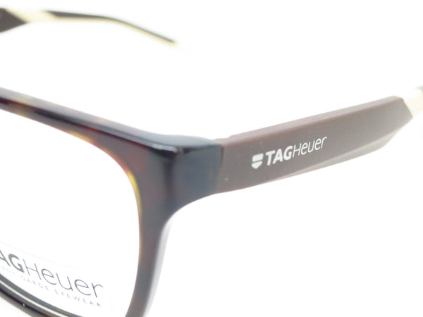 Tag Heuer TH 0552 003 Black/Brown/Tan B Urban Eyeglasses - Eye Heart Shades - Tag Heuer - Eyeglasses - 3