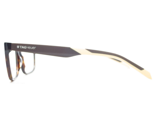 Tag Heuer TH 0552 003 Black/Brown/Tan B Urban Eyeglasses - Eye Heart Shades - Tag Heuer - Eyeglasses - 5