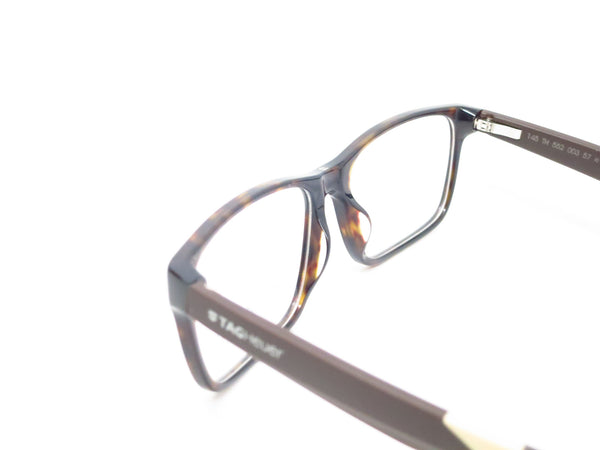 Tag Heuer TH 0552 003 Black/Brown/Tan B Urban Eyeglasses - Eye Heart Shades - Tag Heuer - Eyeglasses - 6