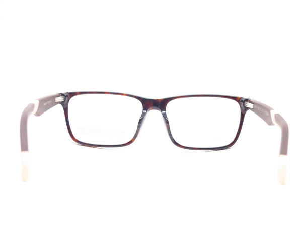 Tag Heuer TH 0552 003 Black/Brown/Tan B Urban Eyeglasses - Eye Heart Shades - Tag Heuer - Eyeglasses - 7