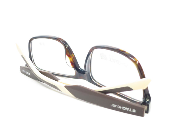 Tag Heuer TH 0552 003 Black/Brown/Tan B Urban Eyeglasses - Eye Heart Shades - Tag Heuer - Eyeglasses - 8