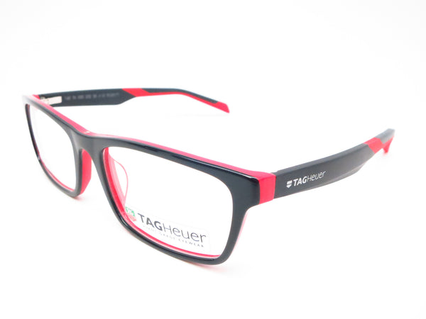 Tag Heuer TH 0555 002 Red  Black B Urban Eyeglasses - Eye Heart Shades - Tag Heuer - Eyeglasses - 1