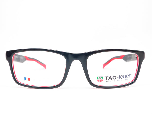 Tag Heuer TH 0555 002 Red  Black B Urban Eyeglasses - Eye Heart Shades - Tag Heuer - Eyeglasses - 2