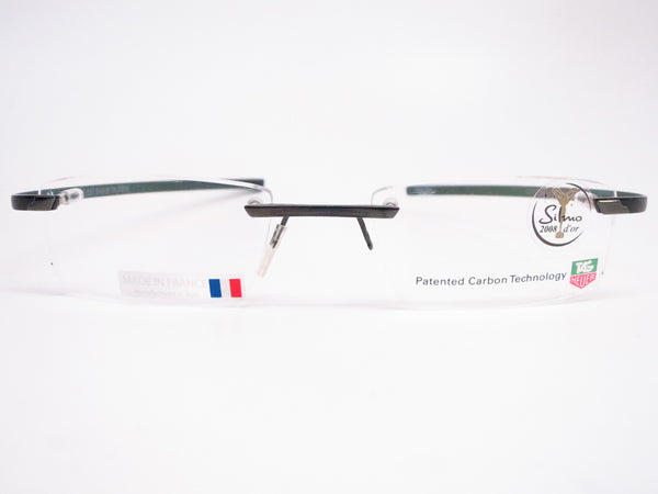 Tag Heuer TH 0712 001 Carbon Fiber Rimless Eyeglasses - Eye Heart Shades - Tag Heuer - Eyeglasses - 2