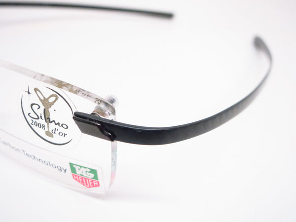 Tag Heuer TH 0712 001 Carbon Fiber Rimless Eyeglasses - Eye Heart Shades - Tag Heuer - Eyeglasses - 3