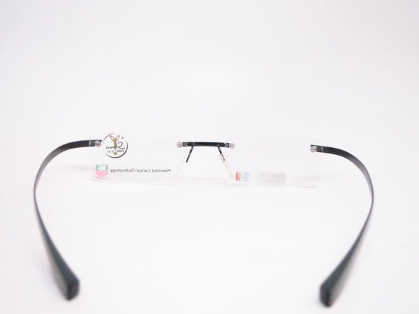 Tag Heuer TH 0712 001 Carbon Fiber Rimless Eyeglasses